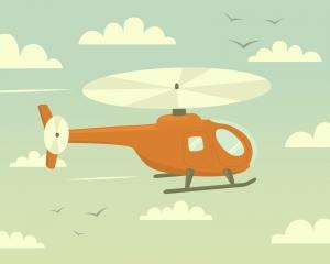 padres helicoptero
